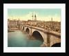 London Bridge across the Thames river, London, England by Anonymous