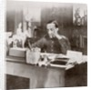 King Alfonso XIII of Spain at his desk in 1915 by Anonymous