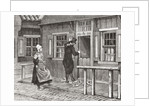A typical wooden house on the island of Marken, the Netherlands in the 19th century by From Holland by Richard Lovett
