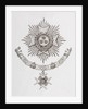 Star, Collar and Badge of a Military Knight Grand Cross of the Order of the Bath by Anonymous