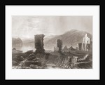 The Ruins of Fort Ticonderoga, New York, United States of America in the early 19th century by Anonymous