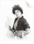 Gertrude Kingston, by Anonymous