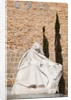 Avila, Avila Province, Spain. Statue of St. Teresa by the Puerta del Alcazar by Anonymous