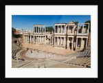 Roman theatre built in the first century BC by Anonymous