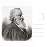 Johannes Brahms by Anonymous