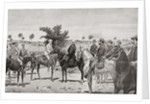 The surrender of Santiago de Cuba by General Toral to General Shafter in 1898 during the Spanish-American war by Anonymous