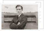 Gustav Hamel - missing May 23, 1914. Pioneer British aviator by Anonymous