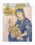 Byzantine Church of St. Saviour in Chora. Mosaic of the Virgin Mary holding the Christ child by Anonymous