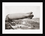 A Clément-Bayard Airship in 1909 by Anonymous