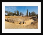 Circular mausoleum in the Roman necropolis of the Archaeological Complex, Carmona by Unknown