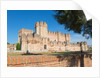 Coca, Segovia Province, Spain. Castillo de Coca. Coca castle. Important example of Mudéjar military architecture by Unknown