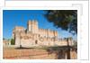 Coca, Segovia Province, Spain. Castillo de Coca. Coca castle. Important example of Mudéjar military architecture by Unknown