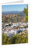 Chefchaouen, Morocco. Overall view of the town by Unknown