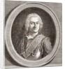 Jean-Baptiste François Desmarets. Marquis of Maillebois. Marshal of France by French School