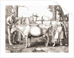 La Laitiere or The Milkmaid by Lucas van Leyden. 16th century farming by Anonymous