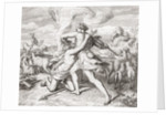 Cain killing his brother Abel by Anonymous