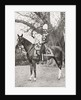 Lord Kitchener during his time in India, on his favourite charger, Democrat by Anonymous