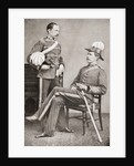 Lord Kitchener and his eldest brother, Colonel Henry Elliott Chevallier Kitchener, 2nd Earl Kitchener by Anonymous