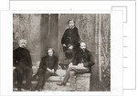 Albert Edward, Prince of Wales, future King Edward VII and his tutors from Oxford by Anonymous