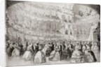 The ball at the Academy of Music in New York by Anonymous