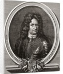 Count Erik Jönsson Dahlbergh. Swedish engineer, soldier and field marshal by Anonymous