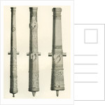 Examples of cannons by Anonymous