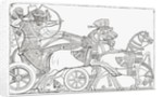 Assyrian war chariot by Anonymous