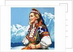 National costume of Yugoslavia by English School