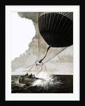 Rosemary Mudie and her husband attempt a transatlantic crossing by balloon by English School