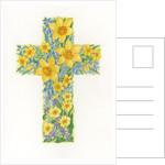 Floral Cross II, 2000 by Linda Benton