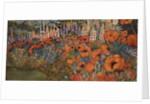 Poppy Border by Lillian Delevoryas