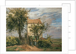 The Road to Rueil by Camille Pissarro