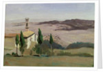 Volterra, Church and Bell Tower, 1834 by Jean Baptiste Camille Corot