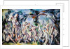 Study of Bathers, c.1900-06 by Paul Cezanne