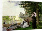 Garden House on the Zaan, Zaandam, 1871 by Claude Monet