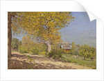 Near Louveciennes, 1872 by Alfred Sisley