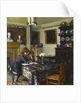 The dining room of John Singer Sargent, c.1884 by Albert de Belleroche