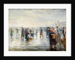 Crowds on a Wet Day by Walter Bonner Gash