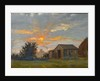 Sunset with a View of Kettering Looking Towards Mr Timpson's Shoe Factory by Walter Bonner Gash