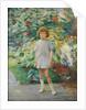 Girl in a Garden by Walter Bonner Gash