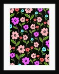 Retro Florals by Louisa Hereford