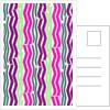 Zig Zig Stripes, 2014 by Louisa Hereford