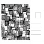 Monochrome Squares by Louisa Hereford