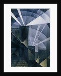 The First Searchlights at Charing Cross, 1914 by Christopher Richard Wynne Nevinson