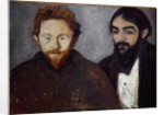 Double Portrait by Edvard Munch