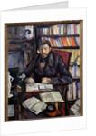 Portrait of the art critic Gustave Geffroy, 1895 by Paul Cezanne