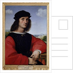 Portrait of Agnolo Doni Portrait of the rich Florentine trader and mecene Agnolo Doni vers 1506 by Raphael
