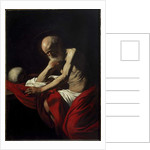 Penitent Saint Jerome, circa 1605-1606 by Michelangelo Merisi da Caravaggio