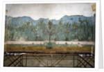 Trompe l'oeil garden from the Villa of Livia, 40-20 BC by Roman