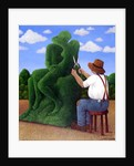 Topiary Kiss by Larry Smart